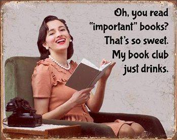 Metalllilaatta Book Club