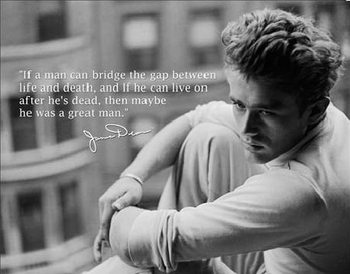 Metalllilaatta JAMES DEAN - Great Man