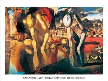 Metamorphosis of Narcissus, 1937 Reproduction d'art