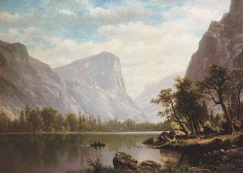 Mirror Lake, Yosemite Valley Reproduction