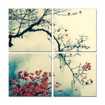 Blooming branch Mounted Art Print