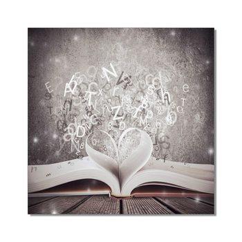 Book Mounted Art Print