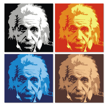 Einstein Mounted Art Print