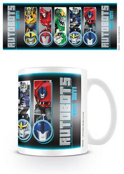 Transformers Robots In Disguise - Roll Call Roll Out Mug