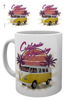 VW Camper - cali retro Mug