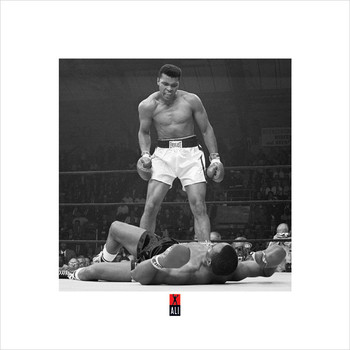 Muhammad Ali v Liston  Reproduction d'art