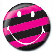 Pins SMILEY - stripy