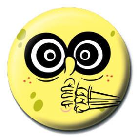 Pins SPONGEBOB - crazy