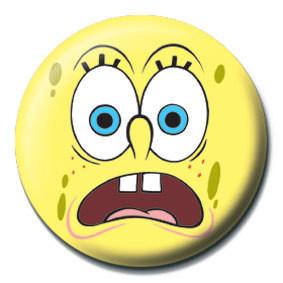 Pins SPONGEBOB - scared