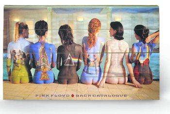 Pintura em madeira Pink Floyd - Back Catalogue