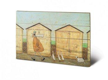Pintura em madeira SAM TOFT - doris brings up
