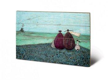 Pintura em madeira Sam Toft - The Same as it Ever Was