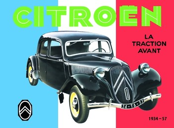 Placa de metal CITROËN TRACTION AVANT