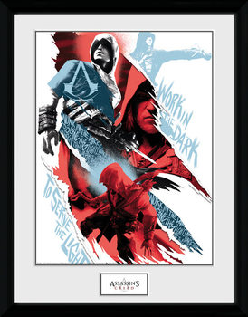 Assassins Creed - Compilation 1 Framed poster