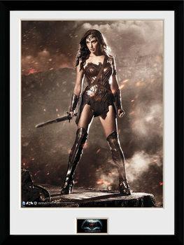 Batman Vs Superman - Wonder Woman Framed poster
