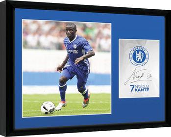 Chelsea - Kante 16/17 Framed poster