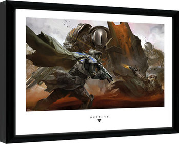 Destiny - Cabal Battle Framed poster