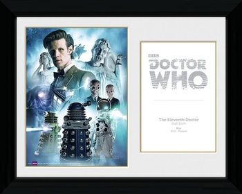 Doctor Who - 11th Doctor Framed poster