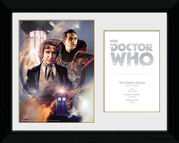 Doctor Who - 8th Doctor Paul McGann Framed poster