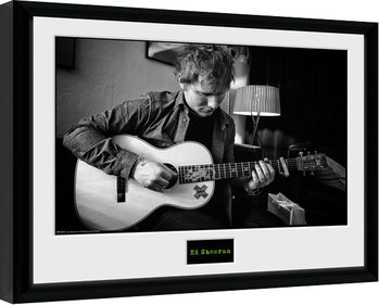 Ed Sheeran - Chord Framed poster