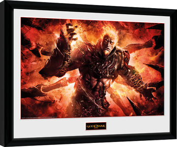 God of War - Ares Framed poster