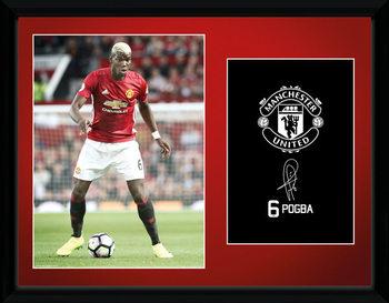 Manchester United - Pogba 16/17 Framed poster