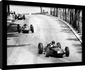Monaco - 12 Framed poster