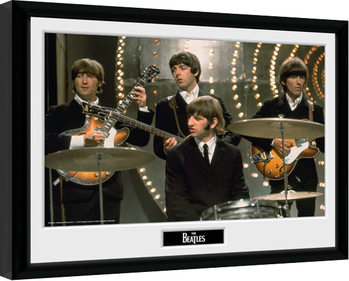 The Beatles - Live Framed poster