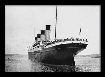 Titanic (3) plastic frame