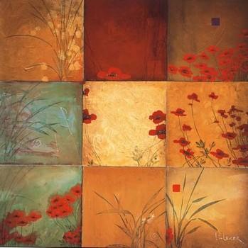Poppy Nine Patch Reproduction d'art