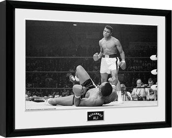 Muhammad Ali - Liston 2 Poster encadré