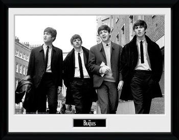 The Beatles - In London Poster encadré en verre