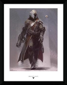 Destiny - Warlock Poster emoldurado de vidro