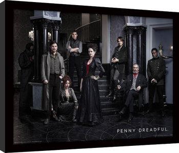 Penny Dreadful - Group Poster Emoldurado