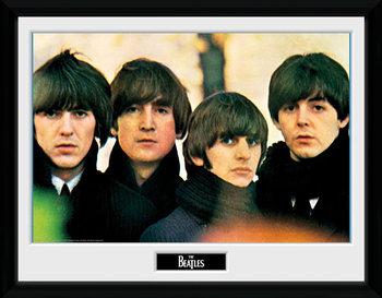 The Beatles - For Sale Poster emoldurado de vidro