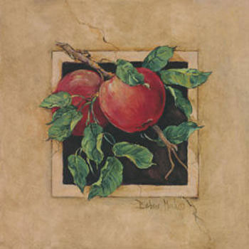 Apple Square Art Print