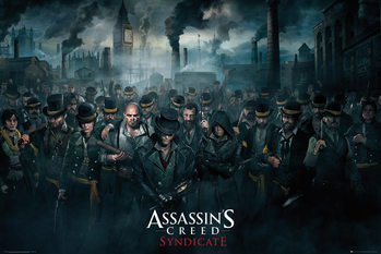 Poster Assassin's Creed Syndicate - Crowd