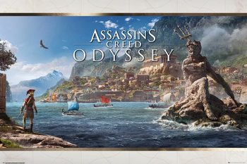 Poster  Assassins Creed Odyssey - Vista