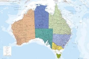 Australia Poster, Art Print