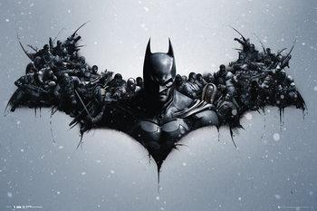Pôster Batman Origins - Arkham Bats