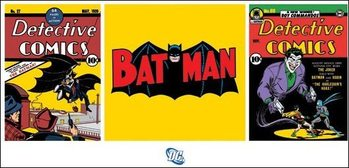 Batman - Triptych Art Print