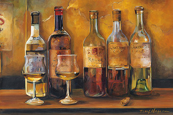CELLAR WHITES Art Print