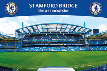 Chelsea FC - Stamford Bridge 13 Poster, Art Print