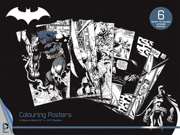 DC Comics - Batman Coloring Poster