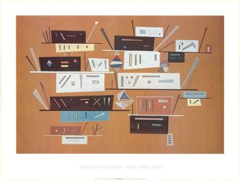 Composition 1940 Art Print