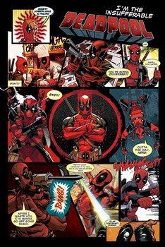 Deadpool - Panels Poster