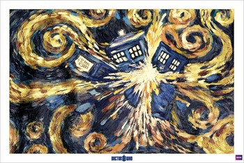 Pôster DOCTOR WHO - exploding tardis