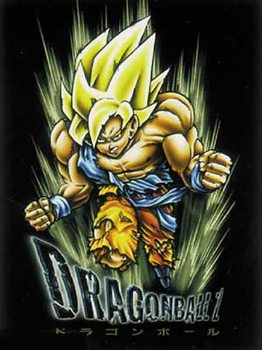 Poster Dragonball Z - Son Goku, blond hair