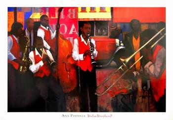 Dukes Dixieland Art Print