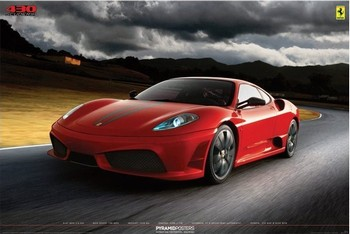 Pôster Ferrari - 430 scuderia